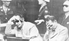 Crimes contra a Humanidade. Com a derrota na 2ª Guerra, os alemães Hermann Goering e Rudolf Hess são julgados no Tribunal de Nuremberg Foto: 10/02/1946 / Arquivo