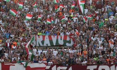 Torcida do Fluminense em foto de arquivo Foto: Márcio Alves / Agência O Globo