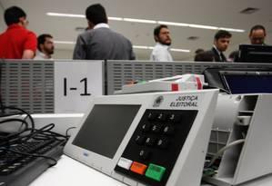 Urna eletrônica Foto: Givaldo Barbosa / Agência O Globo