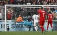 Roberto Firmino deixou sua marca na vitória do Liverpool sobre o Swansea City Foto: Stefan Wermuth / REUTERS