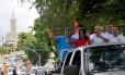 O candidato do PCdoB, Edvaldo Nogueira, lidera a pesquisa do Ibope de intenção de voto