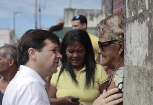 Candidato à reeleição em Recife, Geraldo Julio (PSB) tem 45% dos votos válidos Foto: Divulgação