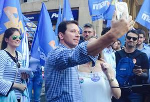Crescimento. Marchezan Júnior, do PSDB, que pode tirar o petista Pont do 2º turno Foto: Cristiane Jungblut