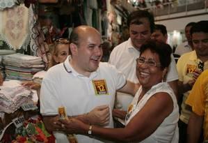 Líder. O prefeito Roberto Cláudio visita o Mercado Central Foto: Divulgação