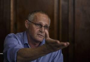 Secretário Beltrame diz confiar em avanços com formação de praças mais longa Foto: Daniel Marenco / Agência O Globo