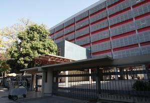 Hospital Souza Aguiar, um dos centros de saúde que apresenta problemas Foto: Roberto Moreyra / Agência O Globo