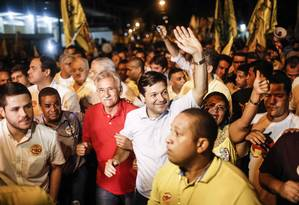 Prefeito de Recife, Geraldo Júlio, candidato à reeleição em atos de campanha Foto: Andréa Rêgo Barros / Divulgação/30-09-2016