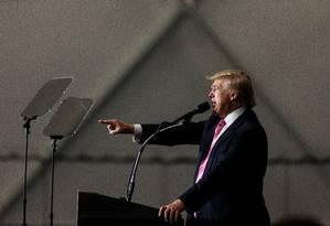 Donald Trump é pressionado por democratas e republicanos a revelar suas declarações de impostos Foto: James Robinson / AP