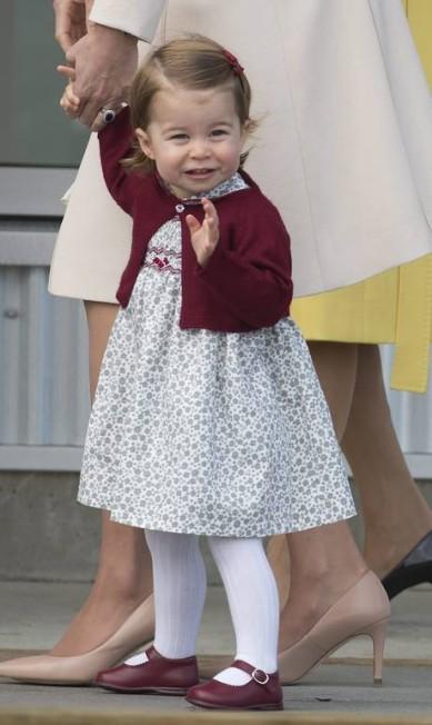 Mais da princesa Charlotte Jonathan Hayward / AP