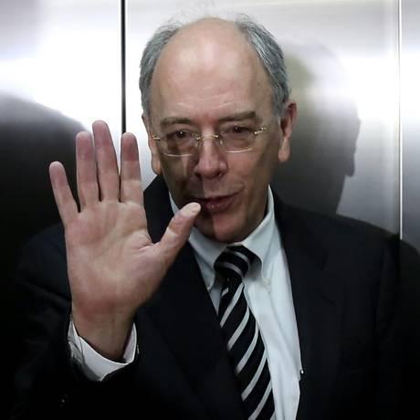 O presidente da Petrobras, Pedro Parente Foto: Ailton de Freitas/Agência O Globo