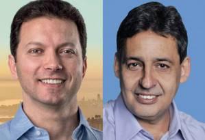Nelson Marchezan Jr e Sebastião Melo Foto: Fotos de divulgação