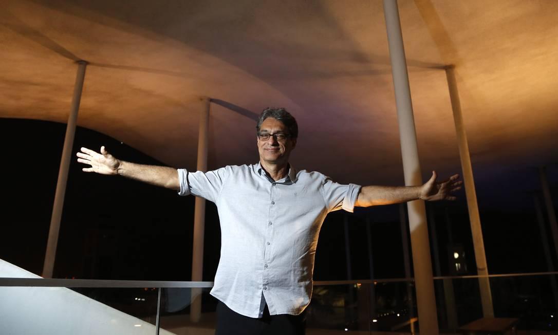 O novo diretor do MAR, Evandro Salles Foto: / Fabio Rossi