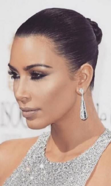 Kim Kardashian com brincos da joalheria Grisogono Reproduçã/Instagram