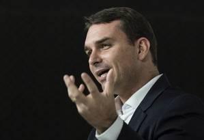 Entrevista com o candidato a prefeitura Flavio Bolsonaro Foto: Leo Martins/21-9-2016