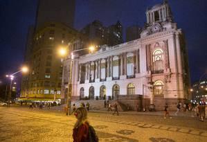 A Câmara de Vereadores do Rio, na Cinelândia Foto: Antonio Scorza/2-7-2015