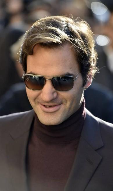 O tenista Roger Federer AP Photo/Zacharie Scheurer