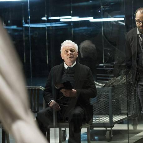 Antony Hopkins em 'Westworld' Foto: Divukgação