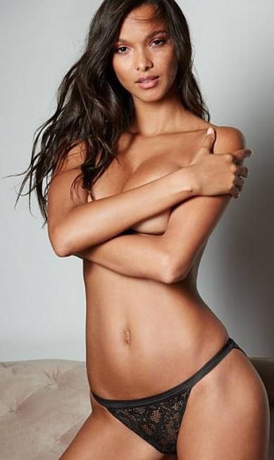 Depois de brilhar na passarela de verão 2017 da Balmain, a top Laís Ribeiro lidera as angels em novas fotos provocantes para a Victoria's Secret Divulgação