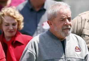 O ex-presidente Luiz Inácio Lula da Silva Foto: Leonardo Benassatto / Agência O Globo