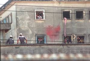 A casa de detenção Carandiru Foto: Nellie Solitrenick / Agência O Globo / Arquivo / 3-10-1992