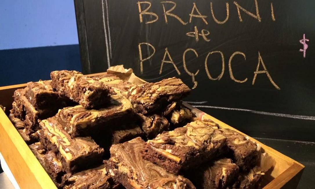 Um dos trucks pioneiros, a Brauni lancaçár dois novos sabores no Rio Gastronomia: pistache e bronwie de menta Divulgação