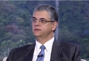 O secretário de Fazenda Gustavo Barbosa Foto: Reprodução / TV Globo