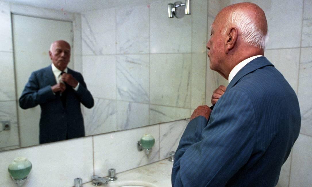 A elegância de Ulysses não se restringia ao trato a política Foto: Ricardo Stuckert / Agência O Globo