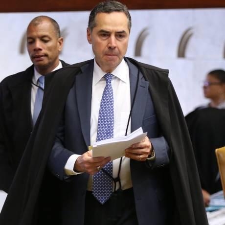 O Ministro Luis Roberto Barroso, em sessão do STF. Foto: Ailton de Freitas/28-9-2016 / Agência O Globo