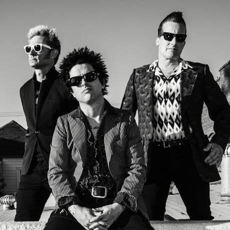 O trio californiano lança na sexta-feira o 12º álbum de uma carreira de 30 anos Foto: Divulgação