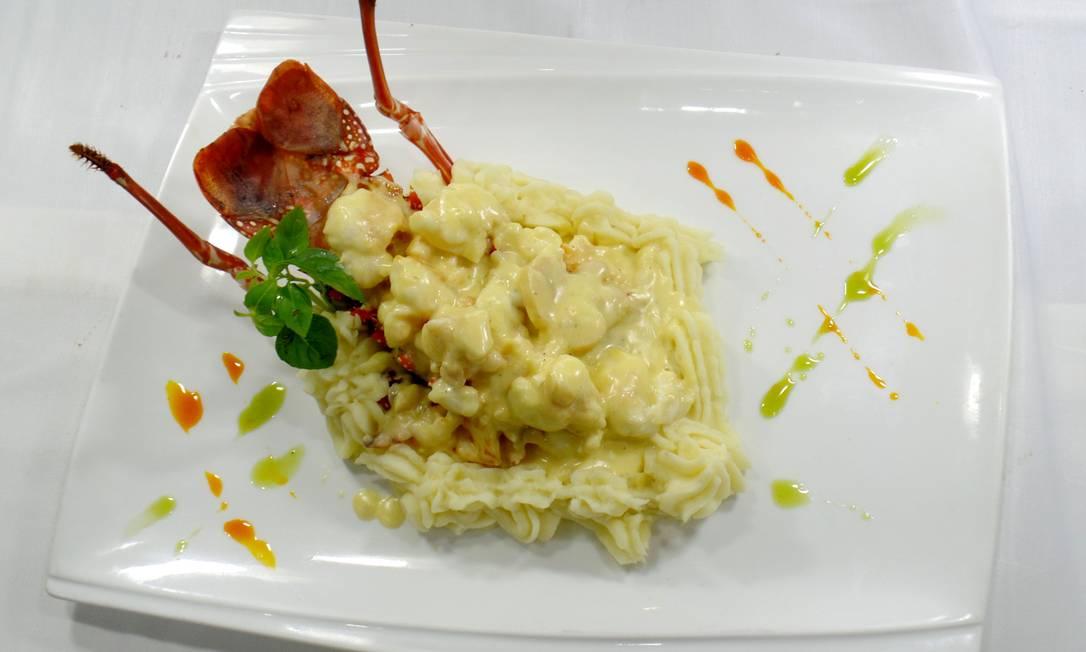 Ancoramar. Frutos do mar são a especialidade do restaurante Divulgação