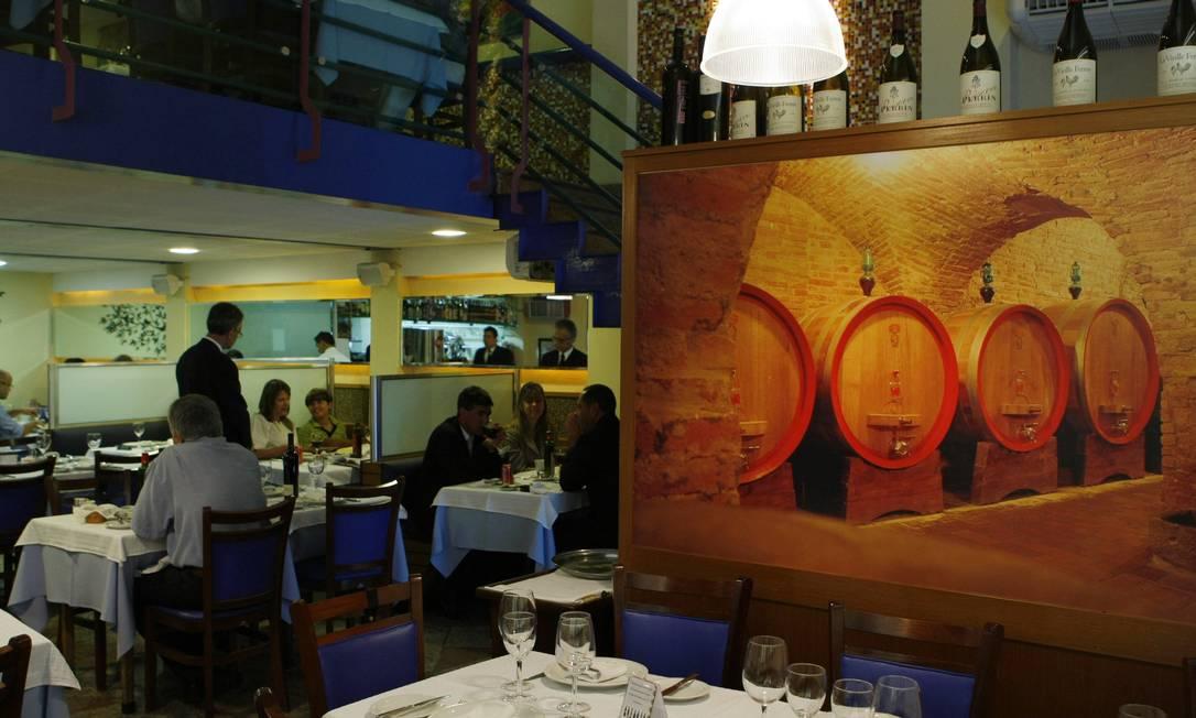 Restaurante Málaga, no Centro André Teixeira / Agência O Globo