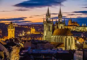 Praga, na República Tcheca Foto: Visit Prague / Divulgação