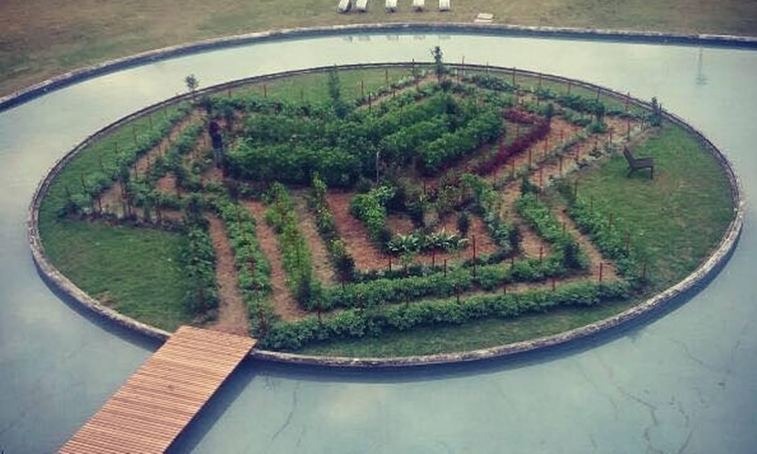 A Cidade das Artes, na Barra da Tijuca, também tem uma horta urbana FACEBOOK/ORGANICIDADE