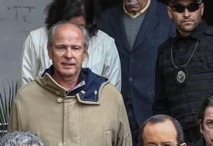 Ex-presidente do Grupo Andrade Gutierrez, Otávio Marques de Azevedo foi preso em junho de 2015. Oito meses depois, teve prisão domiciliar concedida, com duração de 18 meses Foto: Geraldo Bubniak / Agência O Globo