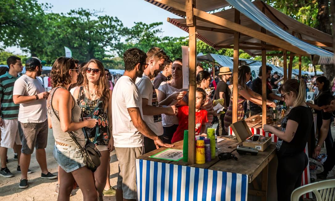 'Com uma cara multicultural, esta edição terá um menu variado com comidas típicas de vários países como Índia, Argentina e Alemanha', diz Camila Felix, organizadora do evento Bel Acosta / Divulgação