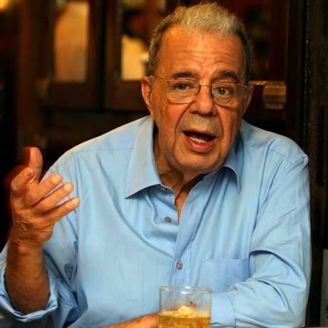 O jornalista Sérgio Cabral, especializado em MPB Foto: Hudson Pontes 07-05-07 / Arquivo O Globo