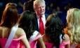Trump fala com candidatas ao Miss Universo