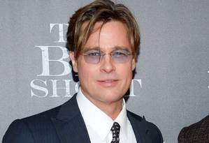 Brad Pitt no lançamento de 'The Big Short' Foto: AP/Evan Agostini