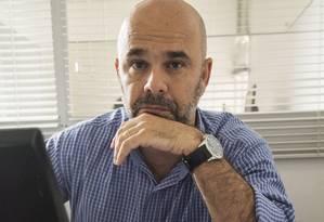 """Recurso. Fabricio Pinto: """"Voltei a dormir tranquilo"""" Foto: Agência O Globo / Ana Branco"""
