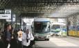 O Terminal Rodoviário Américo Fontenelle, na Central do Brasil: espaço concedido pelo estado em 2012 já deveria ter sido reconstruído
