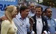 Prefeito eleito de São Paulo, João Doria participa de campanha do candidato do PSDB à Prefeitura de São Bernardo, Orlando Morando, que disputa o segundo turno na cidade
