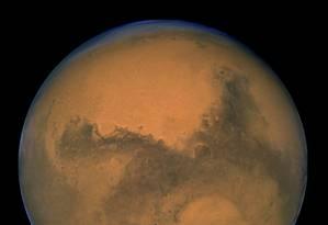 O planeta Marte Foto: Reuters / NASA