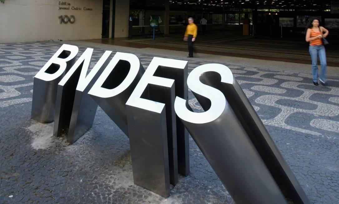 Prédio do BNDES, no Centro do Rio Foto: Mônica Imbuzeiro / Mônica Imbuzeiro