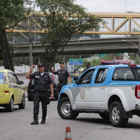 Roberto Sá quer reforçar policiamento nas ruas Foto: Rafael Moraes - 23/07/2015 / Agência O Globo