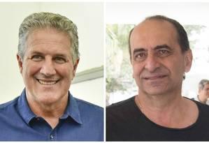 Os candidatos à prefeitura de Belo Horizonte: João Leite (PSDB) e Alexandre Kalil (PHS) Foto: Montagem sobre fotos