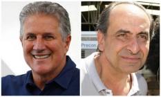 Os candidatos à prefeitura de Belo Horizonte: João Leite (PSDB) e Alexandre Kalil (PHS) Foto: Montagem sobre fotos de divulgação