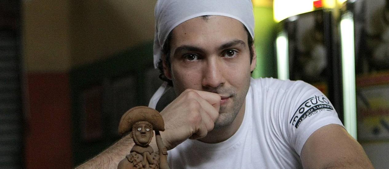 Rodrigo Oiveira, chef do Mocotó, mostrará a versatilidade do cuzcuz Foto: Ricardo Angelo / Divulgação