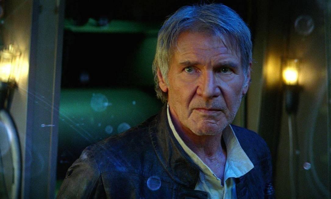Em 2015, o ator voltou ao papel icônico em 'Star Wars: O despertar da Força' Foto: Divulgação