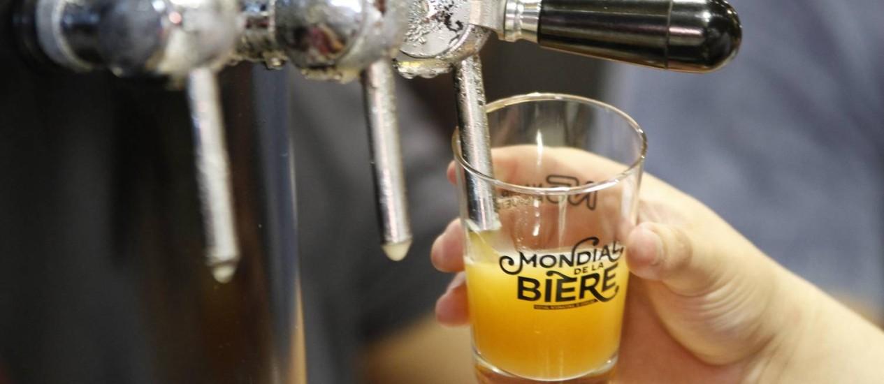 Mondial de la Bière apresenta mais de mil rótulos Foto: Ana Pereira/Photocamera / Divulgação