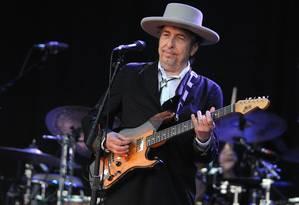 O cantor Bob Dylan Foto: AFP / FRED TANNEAU